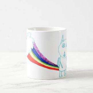 ウォルターの虹猫 コーヒーマグカップ
