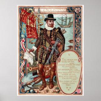 ウォルタークレーンコロンビアの求愛イギリス人 ポスター