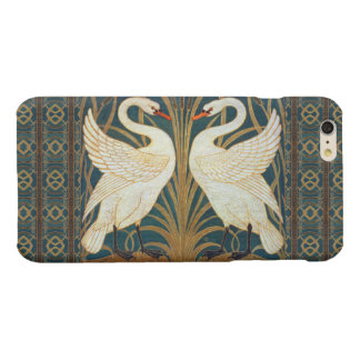 ウォルタークレーン白鳥、突進およびアイリスアールヌーボー 光沢iPhone 6 PLUSケース