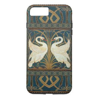 ウォルタークレーン白鳥、突進およびアイリスアールヌーボー iPhone 7 PLUSケース