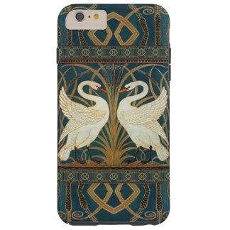 ウォルタークレーン白鳥、突進およびアイリスアールヌーボー TOUGH iPhone 6 PLUS ケース