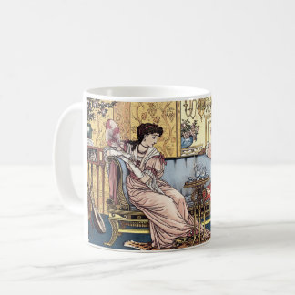 ウォルタークレーン1874年による美しいそして獣 コーヒーマグカップ