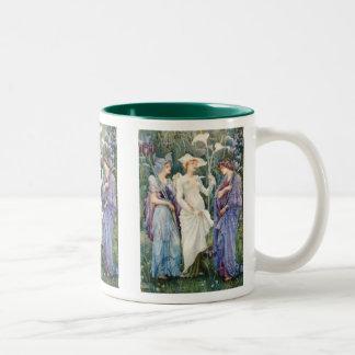 ウォルタークレーン: 春のシンボルや象徴 ツートーンマグカップ