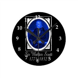 ウォルター・スコット ラウンド壁時計