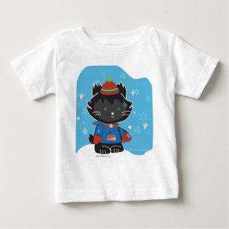 ウォルターMittyの子猫のベビーTess ベビーTシャツ