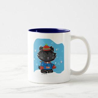 ウォルターMittyの子猫のマグ ツートーンマグカップ