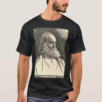 ウォルト・ホイットマンのTシャツ(作家のTシャツ) Tシャツ