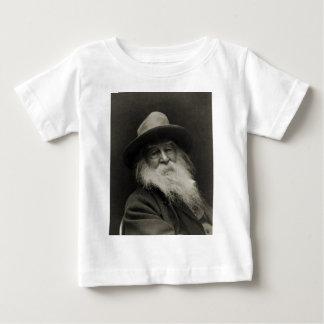 ウォルト・ホイットマン笑う哲学者の詩人 ベビーTシャツ