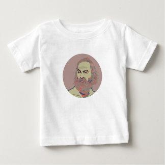 ウォルト・ホイットマン ベビーTシャツ