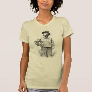 """ウォルト・ホイットマン""""平和常に美しいです""""は Tシャツ"""