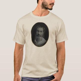 ウォルト・ホイットマンColorizedのポートレート、年齢35 Tシャツ