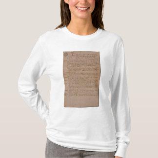 ウォルフガング、モーツァルトおよびWeberの結婚証明書 Tシャツ