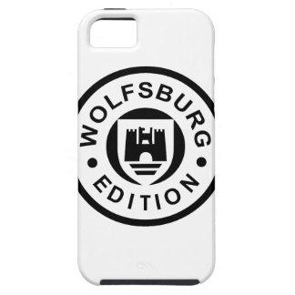 ウォルフスブルクの版(黒) iPhone SE/5/5s ケース