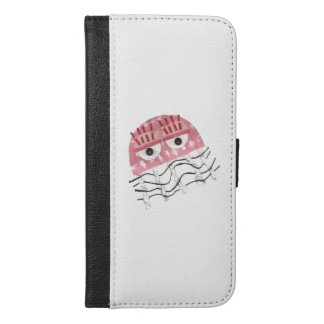 ウォレットケースとくらげの櫛の私電話6/6s iPhone 6/6s plus ウォレットケース