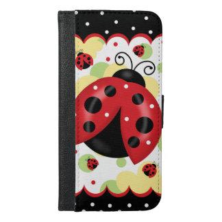 ウォレットケースとてんとう虫のiPhone 6/6S iPhone 6/6s Plus ウォレットケース