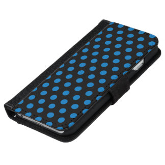 ウォレットケースのiPhone 6つの水玉模様 iPhone 6/6s ウォレットケース