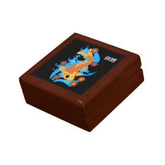 ウォータードラゴン属のコイの魚、ギフト用の箱 ギフトボックス