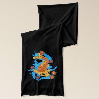 ウォータードラゴン属のコイの魚、スカーフ スカーフ