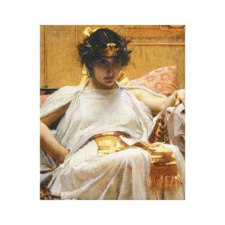 ウォーターハウスのCleopatraのキャンバスのプリント キャンバスプリント