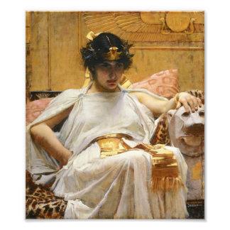 ウォーターハウスのCleopatraの写真のプリント フォトプリント