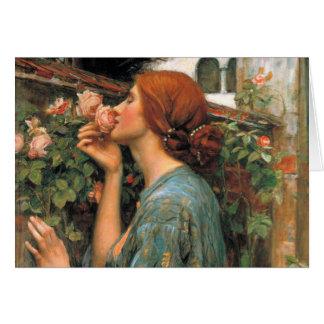 ウォーターハウス: バラの臭い カード