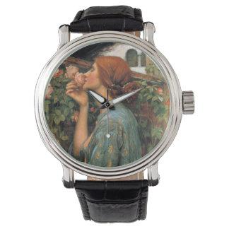 ウォーターハウス: バラの臭い 腕時計
