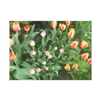 ウォータールーの花 キャンバスプリント