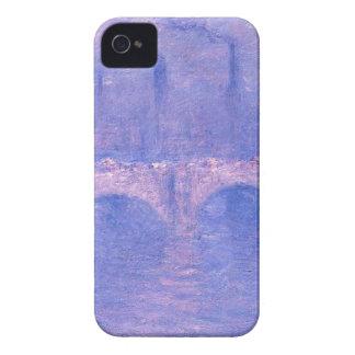 ウォータールー橋、クロード・モネ著かすんでいる日光 Case-Mate iPhone 4 ケース