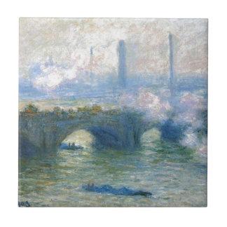 ウォータールー橋、クロード・モネ著ロンドン タイル