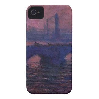 ウォータールー橋、クロード・モネ著曇た天候 Case-Mate iPhone 4 ケース
