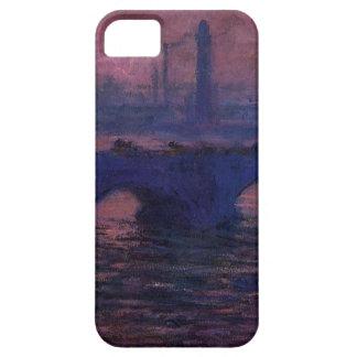ウォータールー橋、クロード・モネ著曇た天候 iPhone SE/5/5s ケース