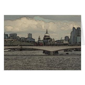 ウォータールー橋、ロンドン カード