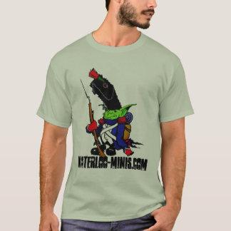 ウォータールー迷彩柄のワイシャツ Tシャツ