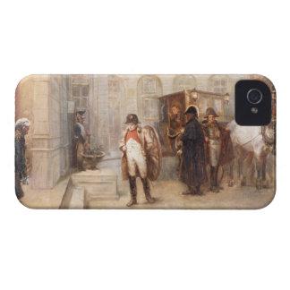 ウォータールー(キャンバスの油)の後のナポレオン Case-Mate iPhone 4 ケース