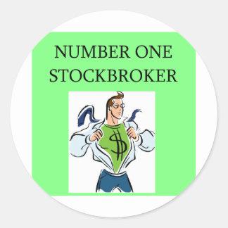ウォールストリートの在庫、市場投資家 ラウンドシール