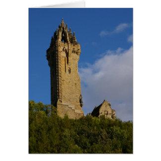 ウォーレス記念碑スターリングスコットランド カード