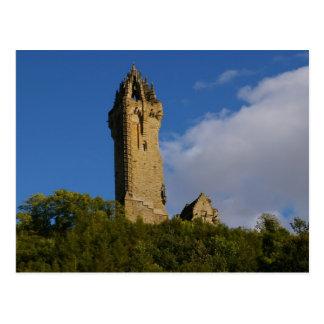 ウォーレス記念碑スターリングスコットランド ポストカード