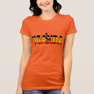 ウガンダのワイシャツ Tシャツ