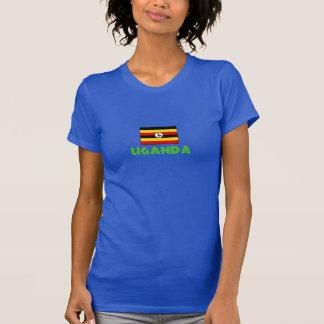 ウガンダの上 Tシャツ