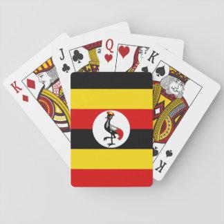ウガンダの国民の世界の旗 トランプ