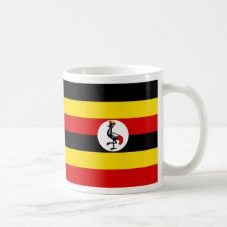 ウガンダの旗 コーヒーマグカップ