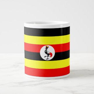 ウガンダの旗 ジャンボコーヒーマグカップ