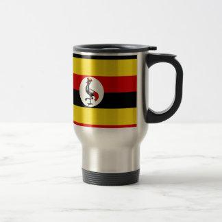 ウガンダの旗 トラベルマグ