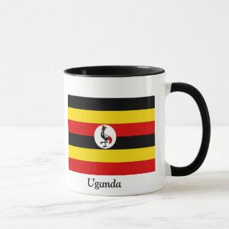 ウガンダの旗 マグカップ