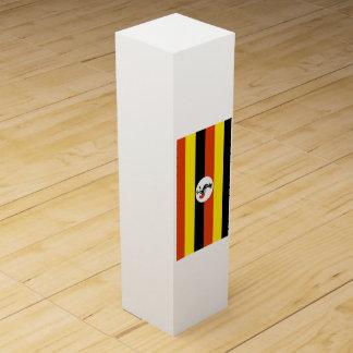 ウガンダの旗 ワインギフトボックス