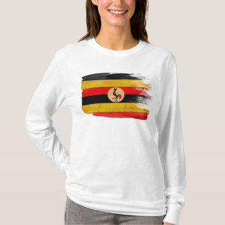ウガンダの旗 Tシャツ