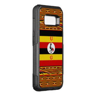ウガンダアフリカの真珠 オッターボックスコミューターSamsung GALAXY S8+ ケース