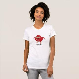 ウガンダ人は女性の戦士をはじき出します Tシャツ