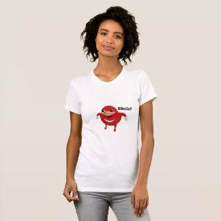 ウガンダ人は女性のEbolaの戦士をはじき出します Tシャツ