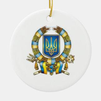 ウクライナのクリスマスのオーナメント セラミックオーナメント